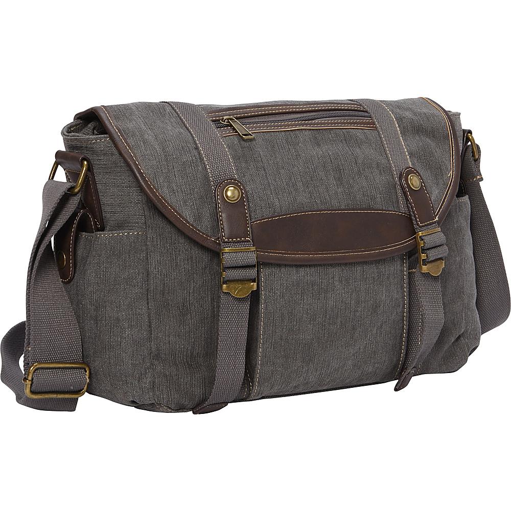 Sun N Sand Baldrick Messenger Bag Grey - Sun N Sand Messenger Bags - Work Bags & Briefcases, Messenger Bags