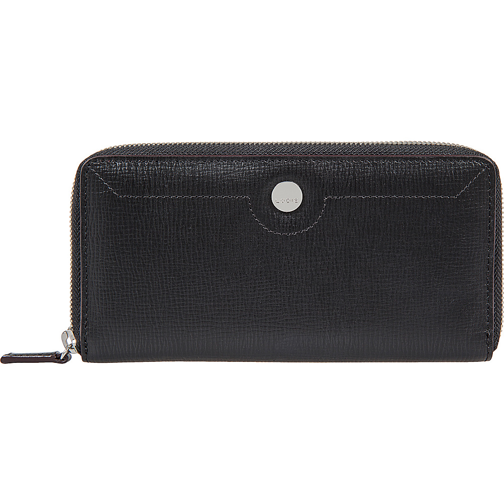 Lodis Business Chic RFID Ada Zip Wallet Black - Lodis Womens Wallets - Women's SLG, Women's Wallets