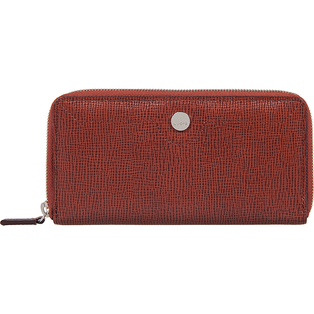 Lodis Business Chic RFID Ada Zip Wallet Russet - Lodis Womens Wallets - Women's SLG, Women's Wallets