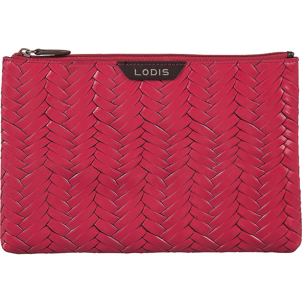 Lodis Nova RFID Flat Pouch Fuchsia - Lodis Womens Wallets - Women's SLG, Women's Wallets
