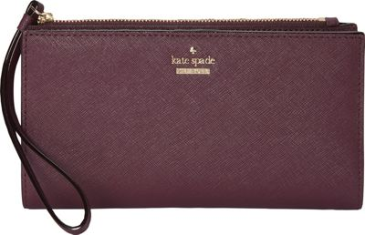 kate spade new york Cameron Street Eliza Wallet Deep Plum - kate spade new york Designer Handbags