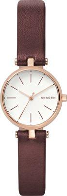 Skagen Signatur T-Bar Watch Red - Skagen Watches