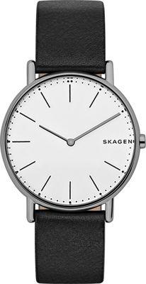 Skagen Signatur Slim Watch Black - Skagen Watches