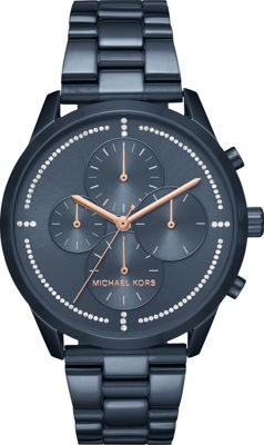 Michael Kors Watches Slater Chronograph Watch Blue - Michael Kors Watches Watches