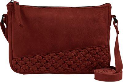 Day & Mood Angel Crossbody Rusty Red - Day & Mood Leather Handbags