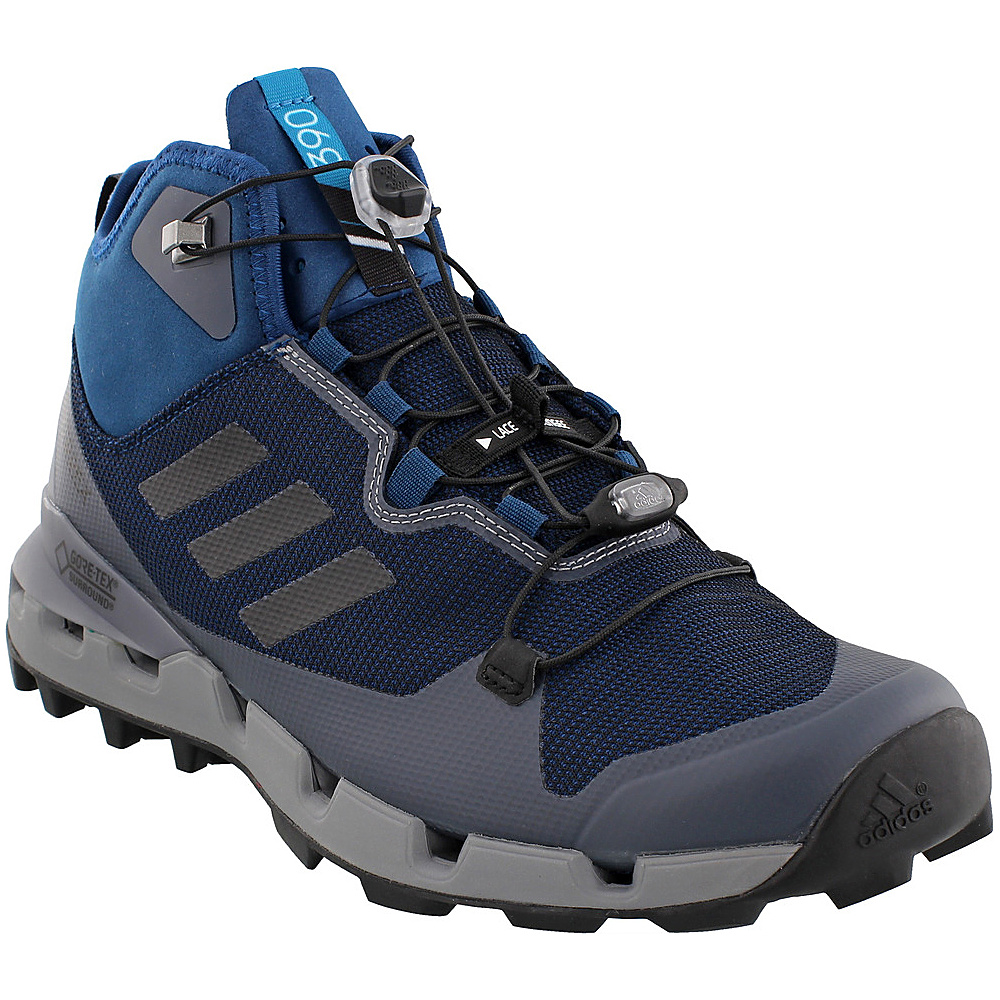 adidas outdoor Mens Terrex Fast GTX-Surround Shoe 7 - Blue Night/Black/Grey Three - adidas outdoor Mens Footwear - Apparel & Footwear, Men's Footwear