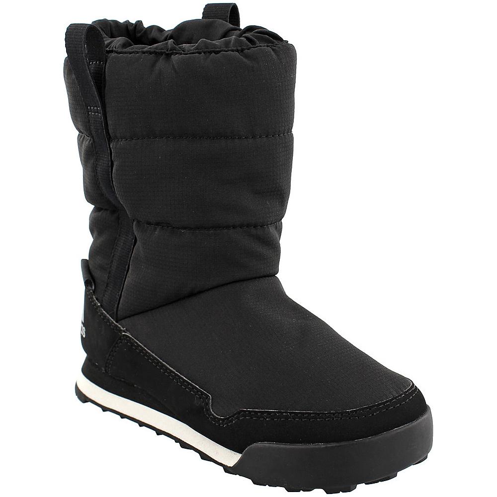 adidas outdoor Kids CW Snowpitch Slip-On CP Shoe 10.5 (US Kids) - Black/Black/Chalk White - adidas outdoor Womens Footwear - Apparel & Footwear, Women's Footwear