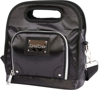 BEBE Coco Lunch Tote Black - BEBE Travel Coolers
