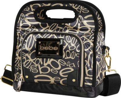 BEBE Coco Lunch Tote Black/Gold - BEBE Travel Coolers