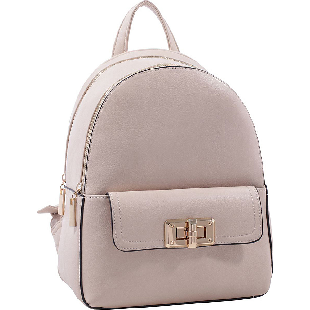 MKF Collection by Mia K. Farrow Paytons Trendy Backpack Pink - MKF Collection by Mia K. Farrow Manmade Handbags - Handbags, Manmade Handbags
