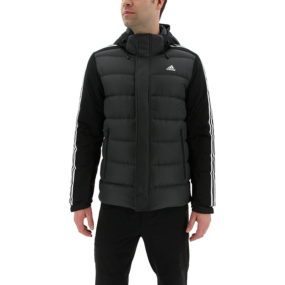 adidas outdoor Mens Itavic 3-Stripe Jacket S - Black/White/White - adidas outdoor Mens Apparel - Apparel & Footwear, Men's Apparel