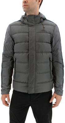 adidas outdoor Mens Itavic 3-Stripe Jacket M - Grey Five/Black/Black - adidas outdoor Men's Apparel 10600556