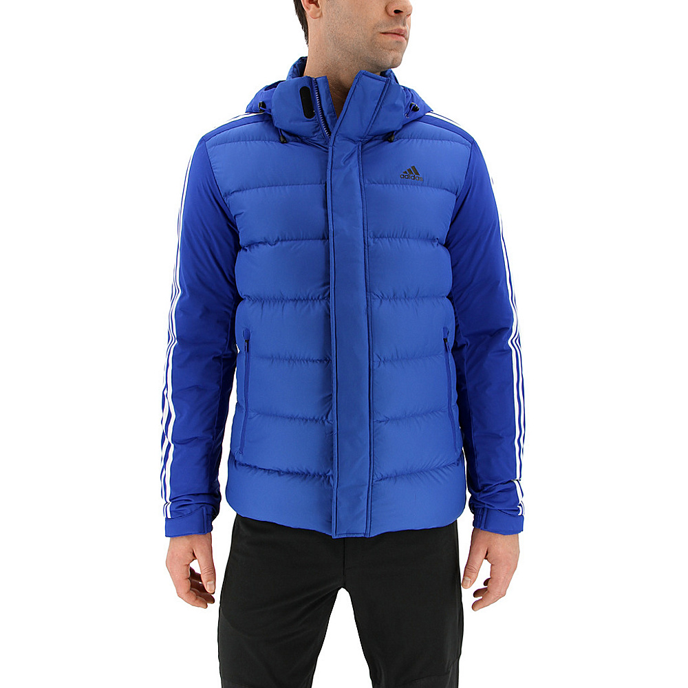 adidas outdoor Mens Itavic 3-Stripe Jacket S - Collegiate Royal/White/Black - adidas outdoor Mens Apparel - Apparel & Footwear, Men's Apparel