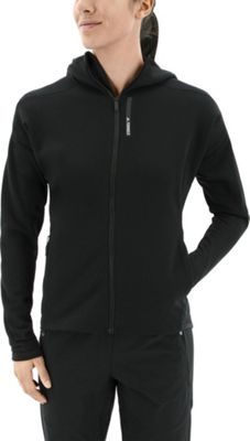 adidas outdoor Womens Terrex Climaheat Ultimate Fleece Jacket L - Black - adidas outdoor Women's Apparel 10601111
