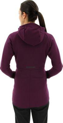 adidas outdoor Womens Terrex Climaheat Ultimate Fleece Jacket L - Black - adidas outdoor Women's Apparel 10601111
