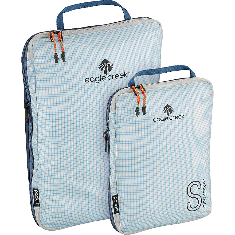 Eagle Creek Pack-It Specter Tech Compression Cube Set S/M Indigo Blue - Eagle Creek Travel Organizers - Travel Accessories, Travel Organizers