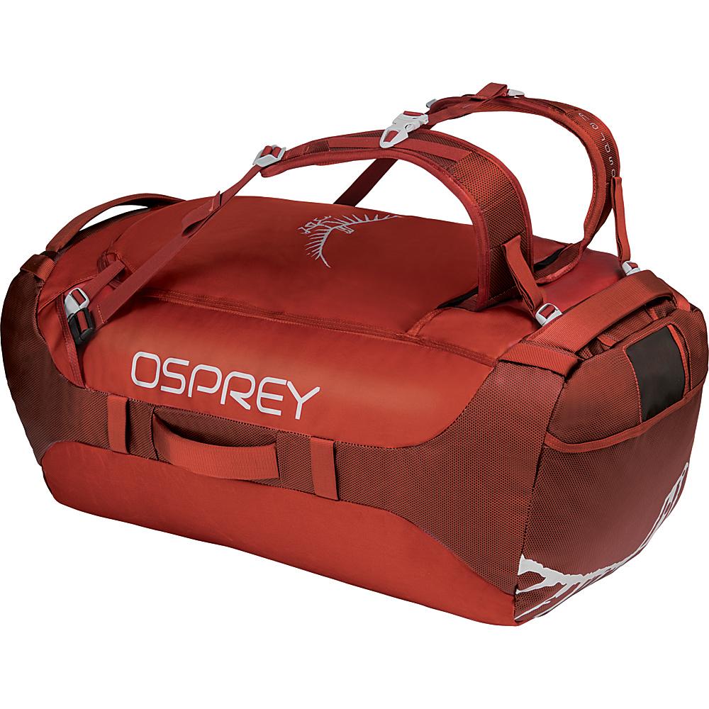 Osprey Transporter 95L Duffel Ruffian Red - Osprey Travel Duffels - Duffels, Travel Duffels