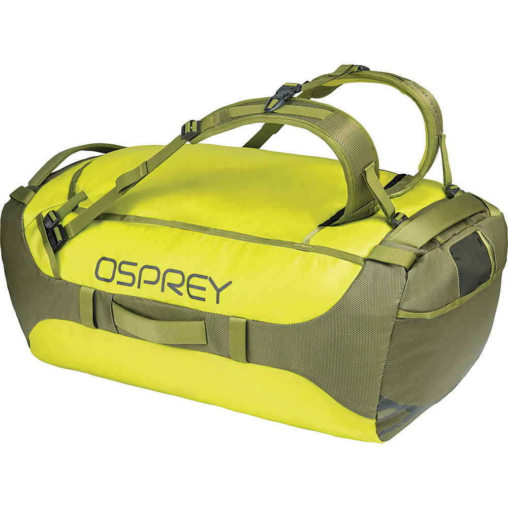 Osprey Transporter 95L Duffel Sub Lime - Osprey Travel Duffels - Duffels, Travel Duffels
