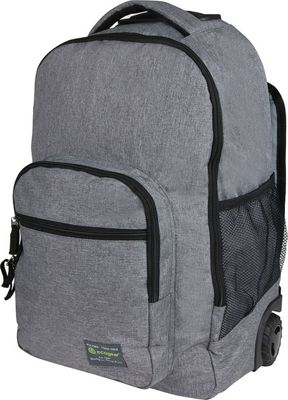 ecogear Dhole Laptop Rolling Backpack Asphalt - ecogear Wheeled Backpacks