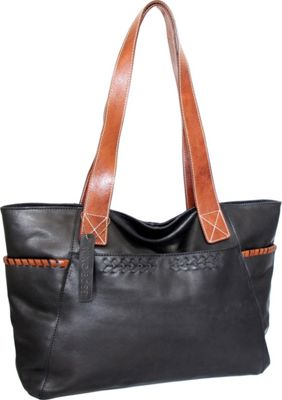 Nino Bossi Destiny Tote Black - Nino Bossi Leather Handbags