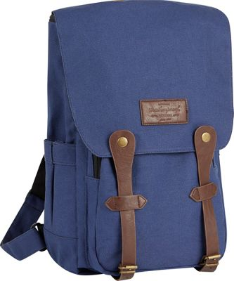 Weatherproof Relaxed 17 inch Laptop Backpack Navy - Weatherproof Business & Laptop Backpacks