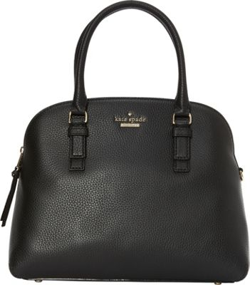 kate spade new york Jackson Street Lottie Satchel Black - kate spade new york Designer Handbags