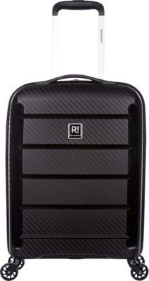 Revelation Tobago 22 inch Lightweight Hardside Carry-On Spinner Luggage Black - Revelation Hardside Carry-On