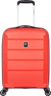 Revelation Tobago 22 inch Lightweight Hardside Carry-On Spinner Luggage Red - Revelation Hardside Carry-On