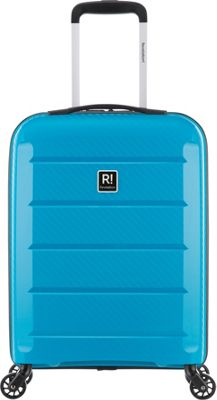 Revelation Tobago 22 inch Lightweight Hardside Carry-On Spinner Luggage Teal - Revelation Hardside Carry-On