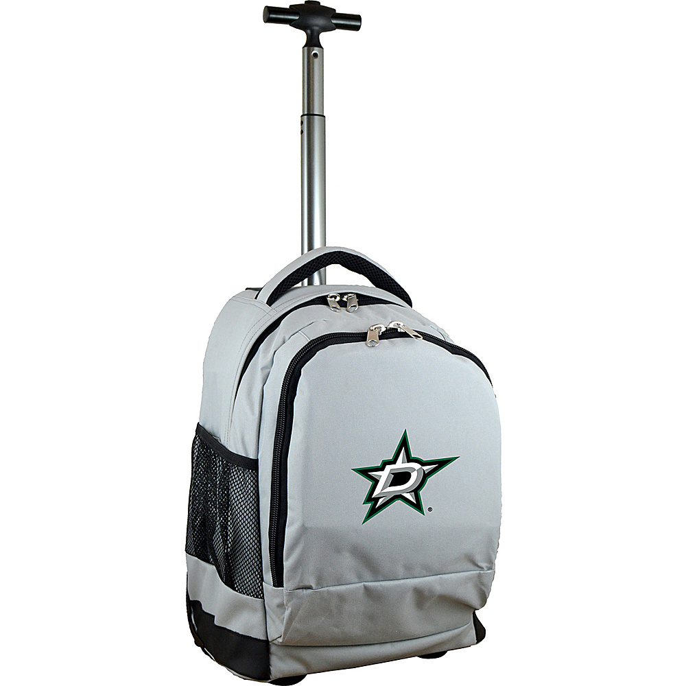 MOJO Denco NHL Premium Laptop Rolling Backpack Dallas Stars - MOJO Denco Rolling Backpacks - Backpacks, Rolling Backpacks