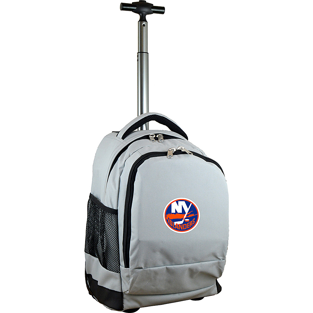 MOJO Denco NHL Premium Laptop Rolling Backpack New York Islanders - MOJO Denco Rolling Backpacks - Backpacks, Rolling Backpacks