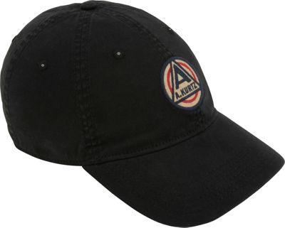 Image of A Kurtz Akurtz Patch Flex Baseball Cap One Size - Black - A Kurtz Hats/Gloves/Scarves