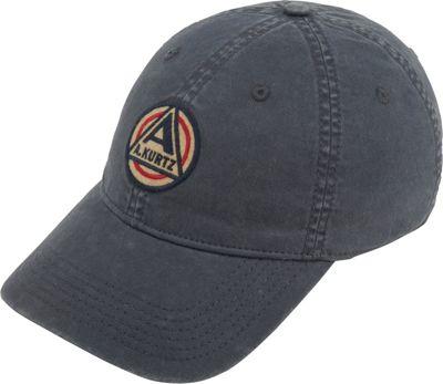 Image of A Kurtz Akurtz Patch Flex Baseball Cap One Size - Gunmetal - A Kurtz Hats/Gloves/Scarves