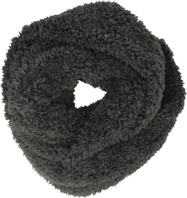 Woolrich Accessories Cozy Sherpa Eternity Scarf Anthracite - Woolrich Accessories Hats/Gloves/Scarves