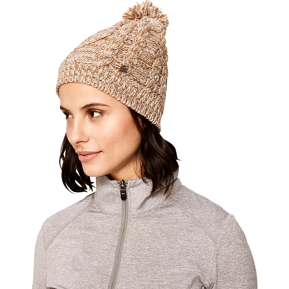 Lole Cable Knit Beanie One Size - Sepia - Lole Hats/Gloves/Scarves - Fashion Accessories, Hats/Gloves/Scarves