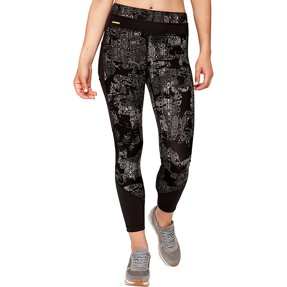 Lole Burst Leggings M - Black Rumors - Lole Womens Apparel - Apparel & Footwear, Women's Apparel