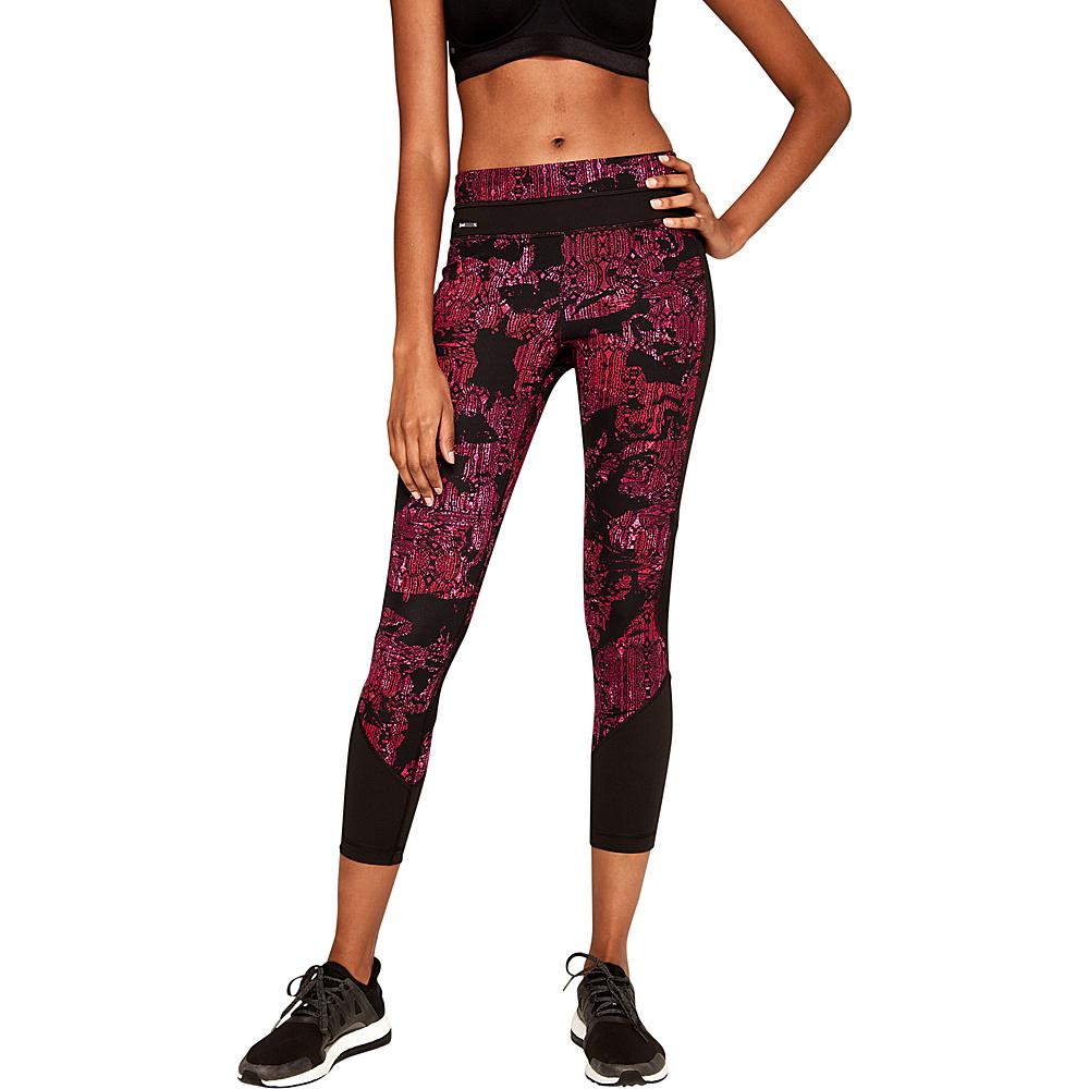 Lole Burst Leggings XS - Dark Berry Rumors - Lole Womens Apparel - Apparel & Footwear, Women's Apparel