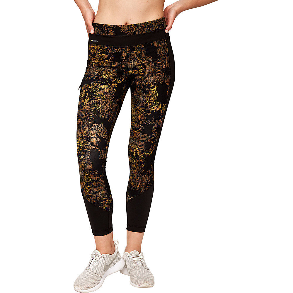 Lole Burst Leggings M - Mount Royal Rumors - Lole Womens Apparel - Apparel & Footwear, Women's Apparel
