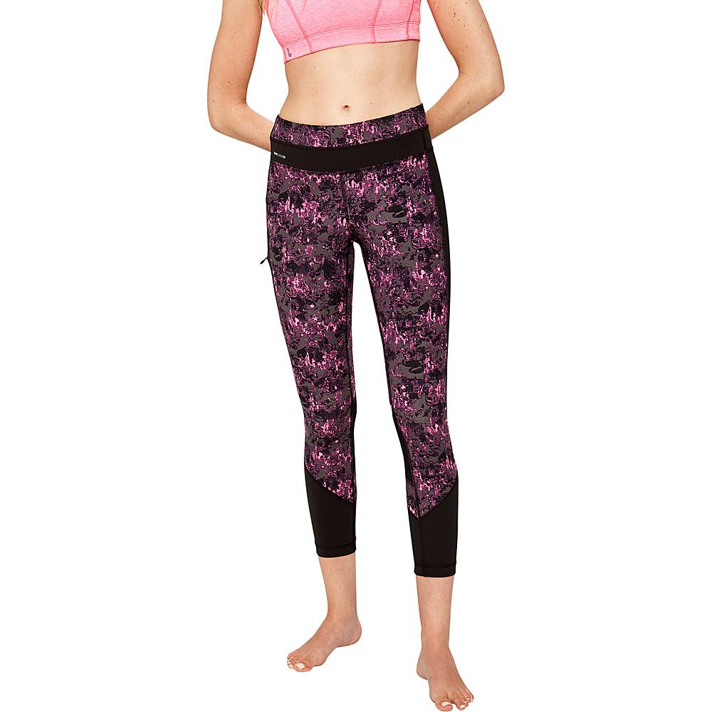 Lole Burst Leggings L - Hot Pink Hills - Lole Womens Apparel - Apparel & Footwear, Women's Apparel