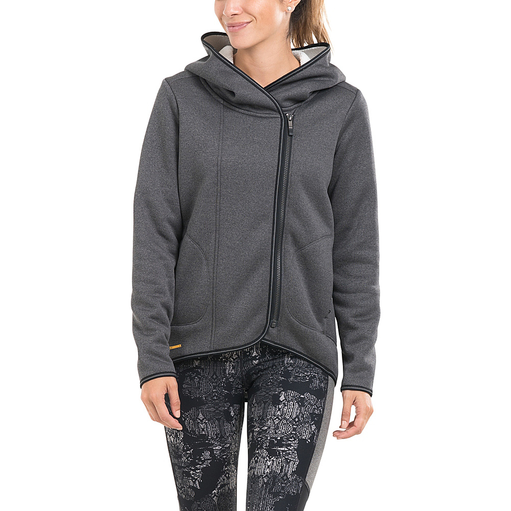 Lole Ardeen Hooded Cardigan XS - Black Heather - Lole Womens Apparel - Apparel & Footwear, Women's Apparel