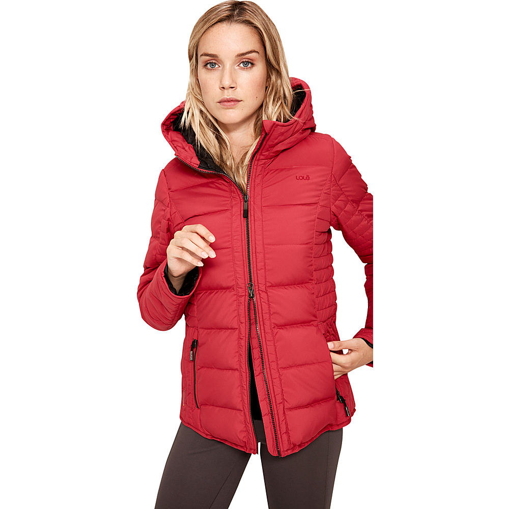 Lole Gladis Jacket S - Red Sea - Lole Womens Apparel - Apparel & Footwear, Women's Apparel