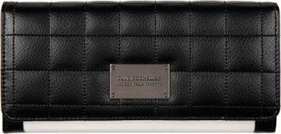 Club Rochelier Expander Clutch Wallet Black/White - Club Rochelier Women's Wallets