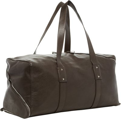 PX Derek Diagonal Duffel Bag Charcoal - PX Travel Duffels