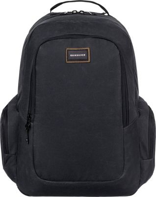 Quiksilver Schoolie Plus 25L Medium Laptop Backpack Oldy Black - Quiksilver Business & Laptop Backpacks