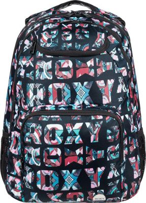 Roxy Shadow Swell 24L Medium Laptop Backpack Anthracite Urban Flavor - Roxy Laptop Backpacks