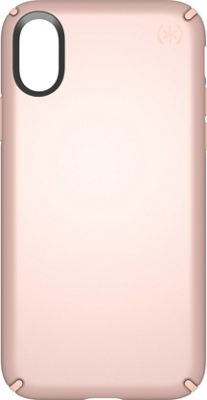 Speck iPhone X Presidio Metallic Case Rose Gold Metallic/Dahlia Peach - Speck Electronic Cases 10615967