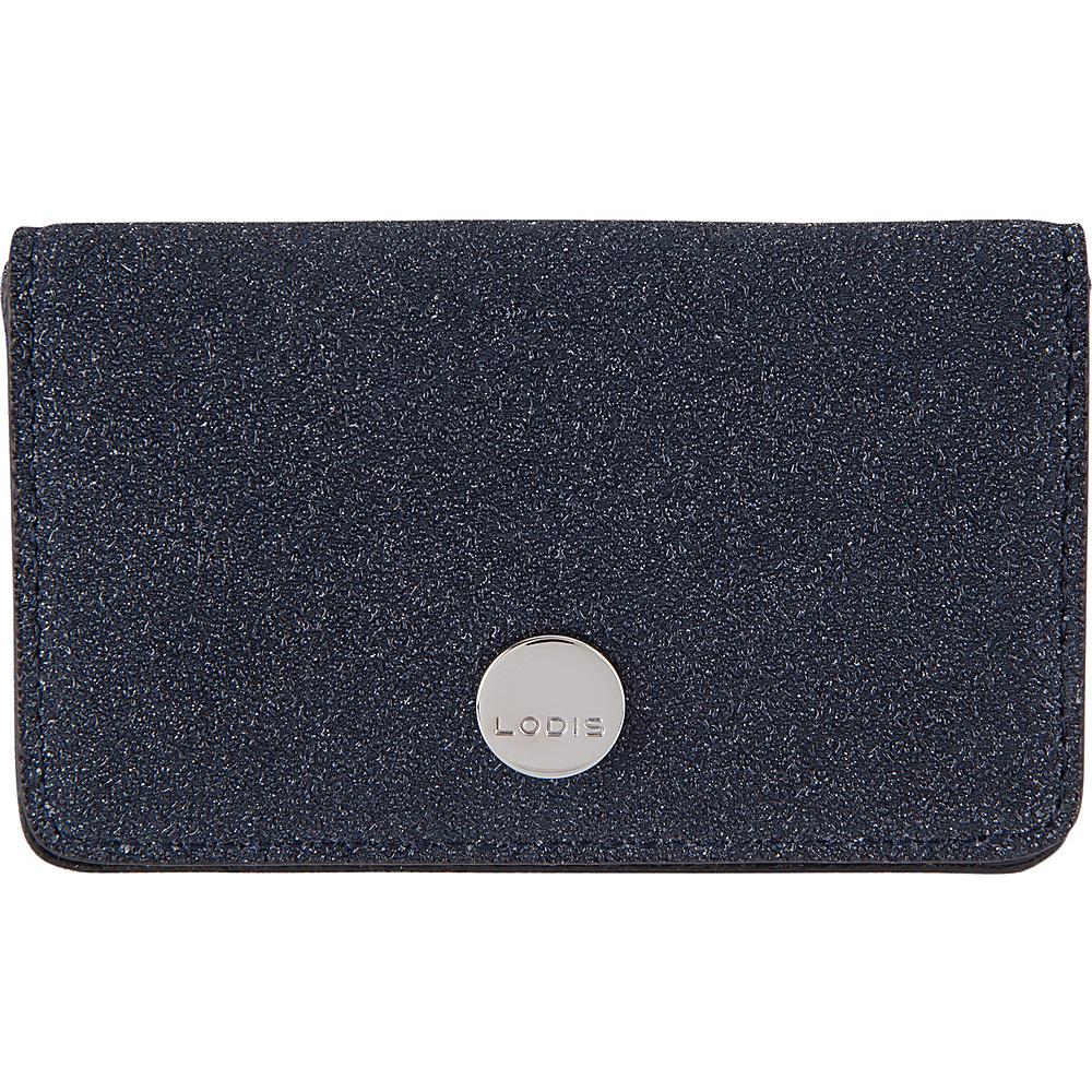 Lodis Romance RFID Mini Card Case Midnight - Lodis Womens Wallets - Women's SLG, Women's Wallets