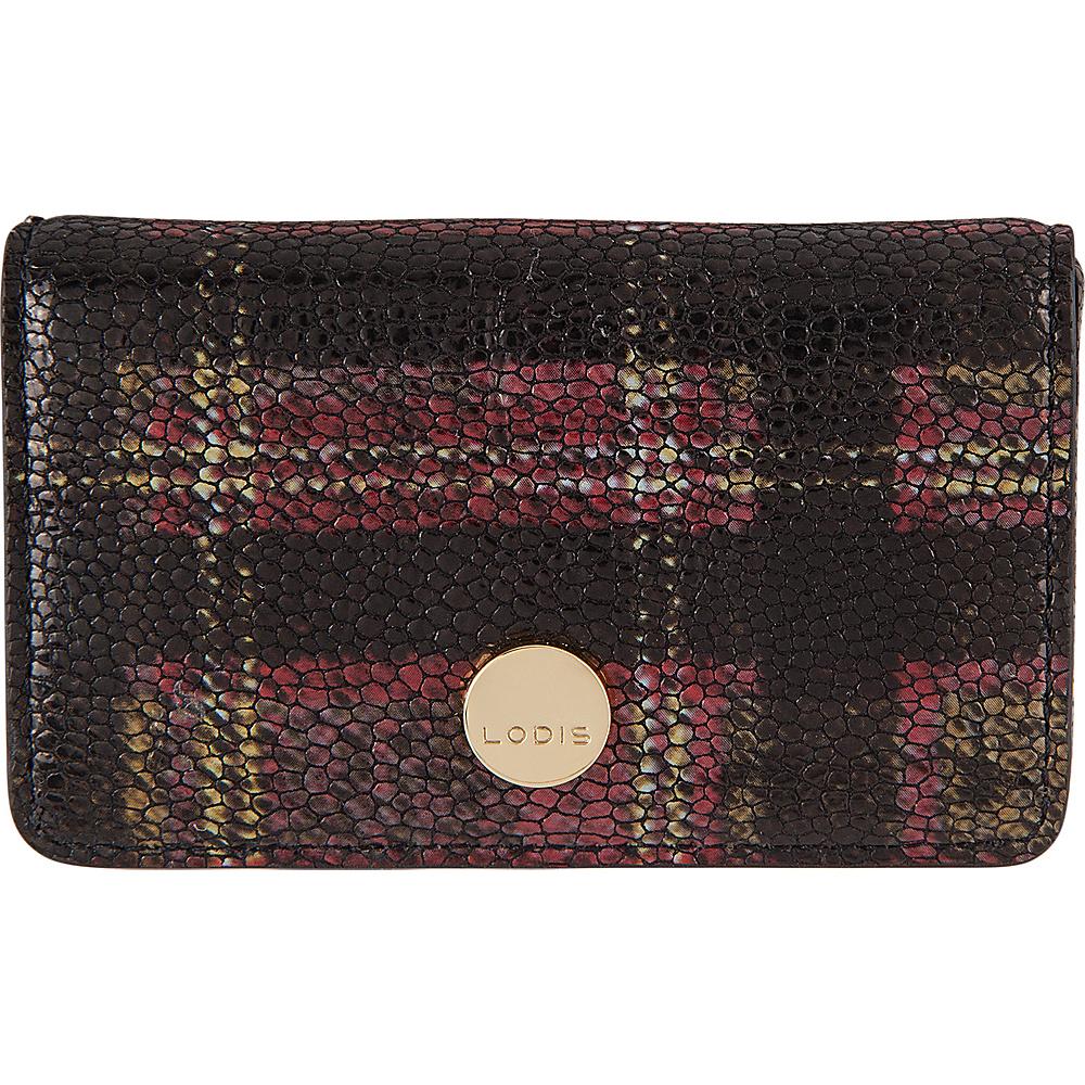 Lodis Romance RFID Mini Card Case Red - Lodis Womens Wallets - Women's SLG, Women's Wallets