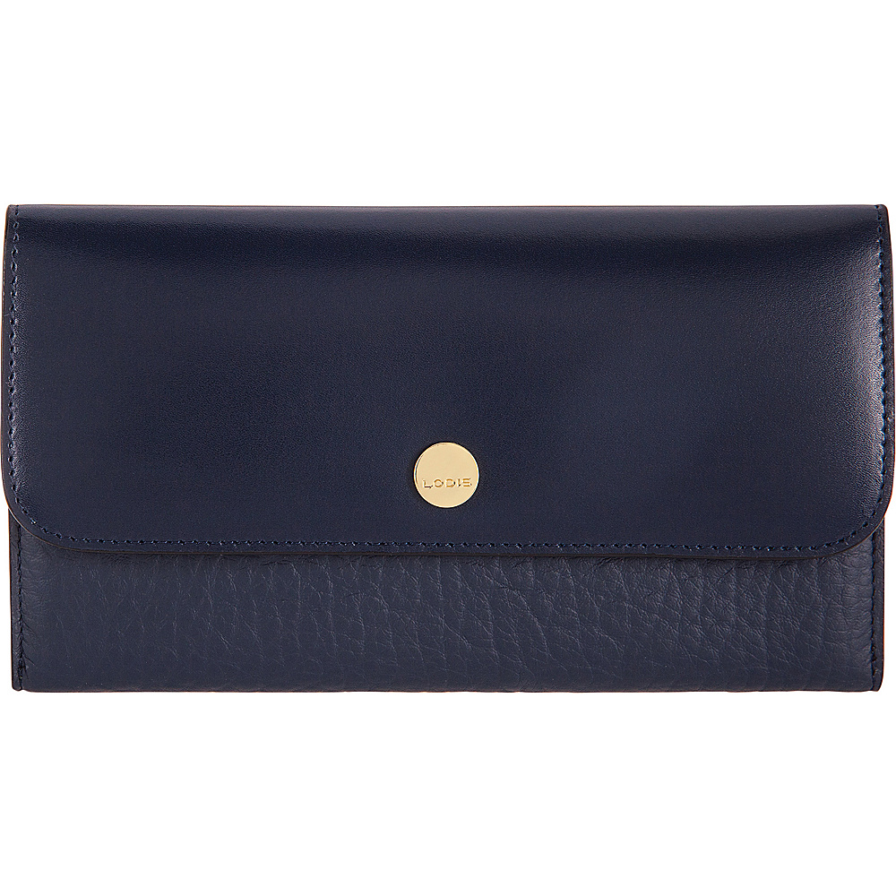 Lodis In The Mix RFID Luna Clutch Wallet Navy - Lodis Womens Wallets - Women's SLG, Women's Wallets
