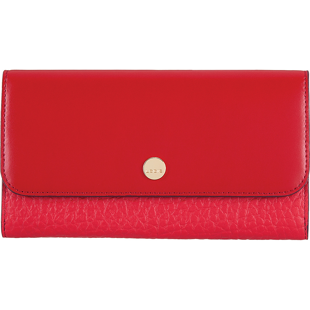 Lodis In The Mix RFID Luna Clutch Wallet Red - Lodis Womens Wallets - Women's SLG, Women's Wallets